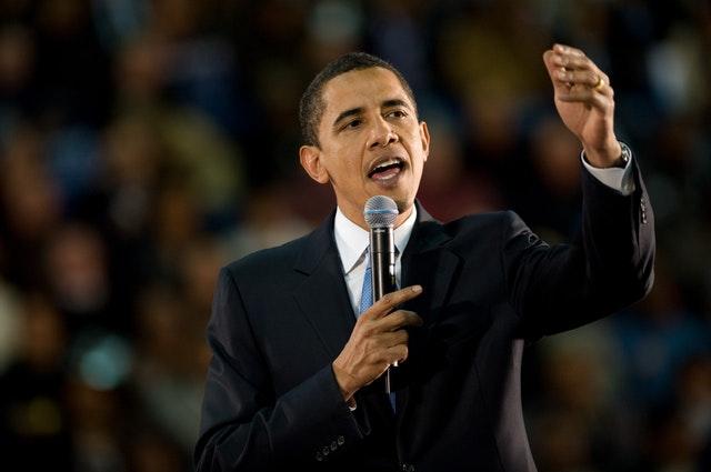 Публичное выступление Обамы