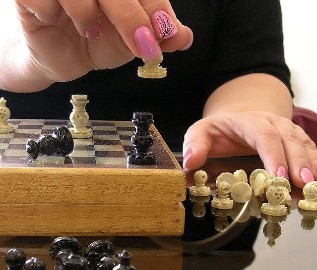 Женщина побеждает