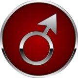 Мужской символ