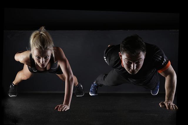Соревнование мужчины и женщины