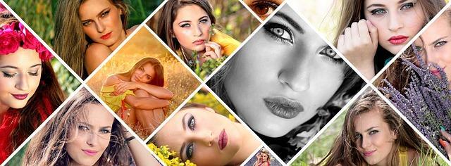 Портреты девушек