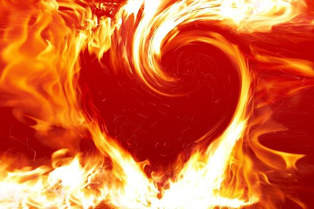 Сердце из огня