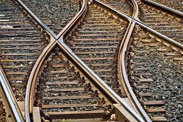 Железнодорожная развилка
