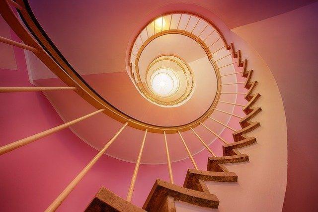 Длинная лестница вверх