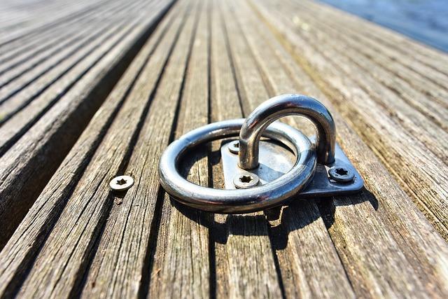 Кольцо на пристани