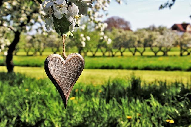 Сердце на верёвочке