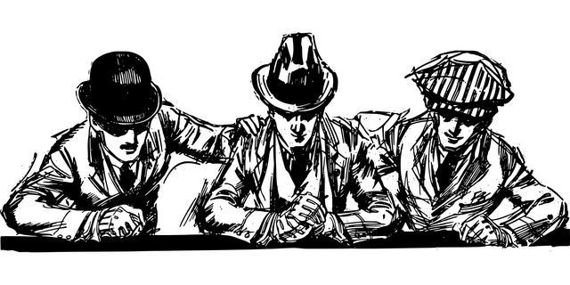 Три мужчины