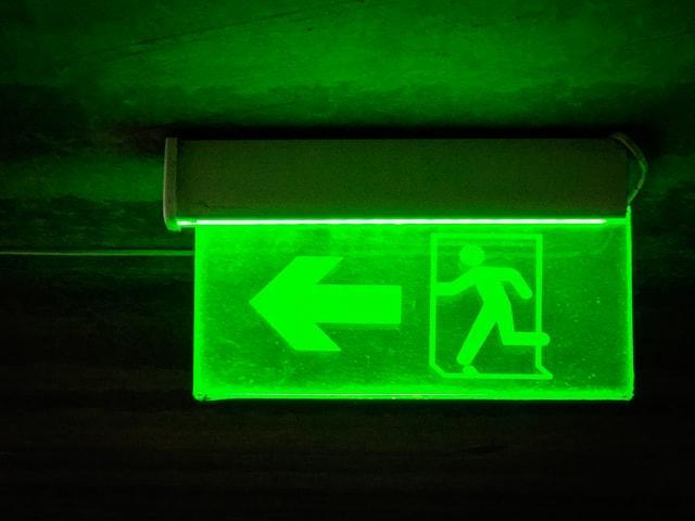 Знак аварийного выхода
