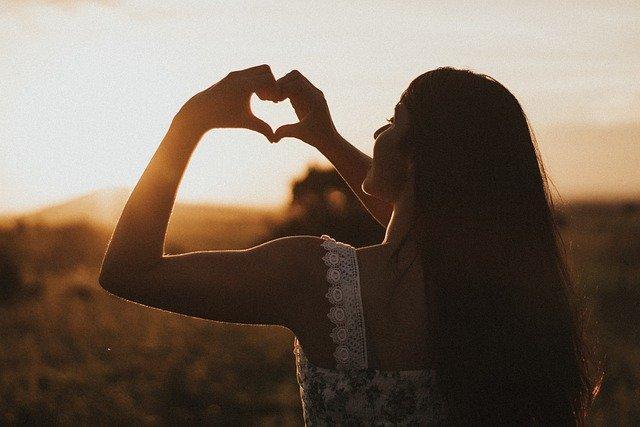 Влюбленная девушка